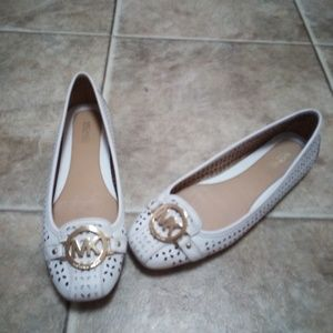 Michael Kors leather slip on shoes size 8 m